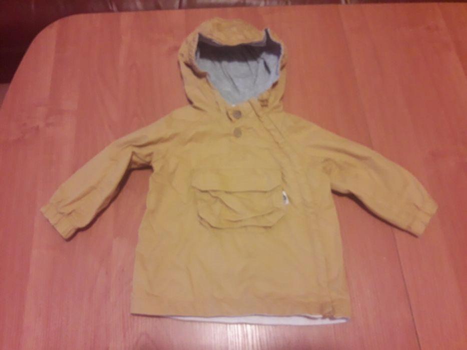 Reserved Kids żółta kurtka jesień wiosna r.74