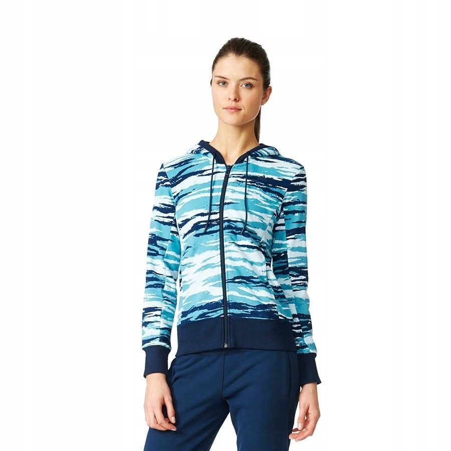 Bluza adidas Essentials Hoody All Over Print AY487