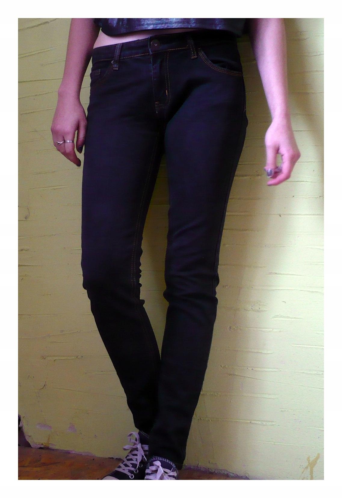 Ciemne spodnie Miss Anna
