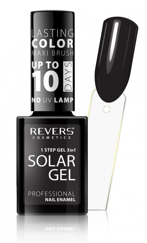 REVERS SOLAR GEL lakier solarny 24 DEEP BLACK