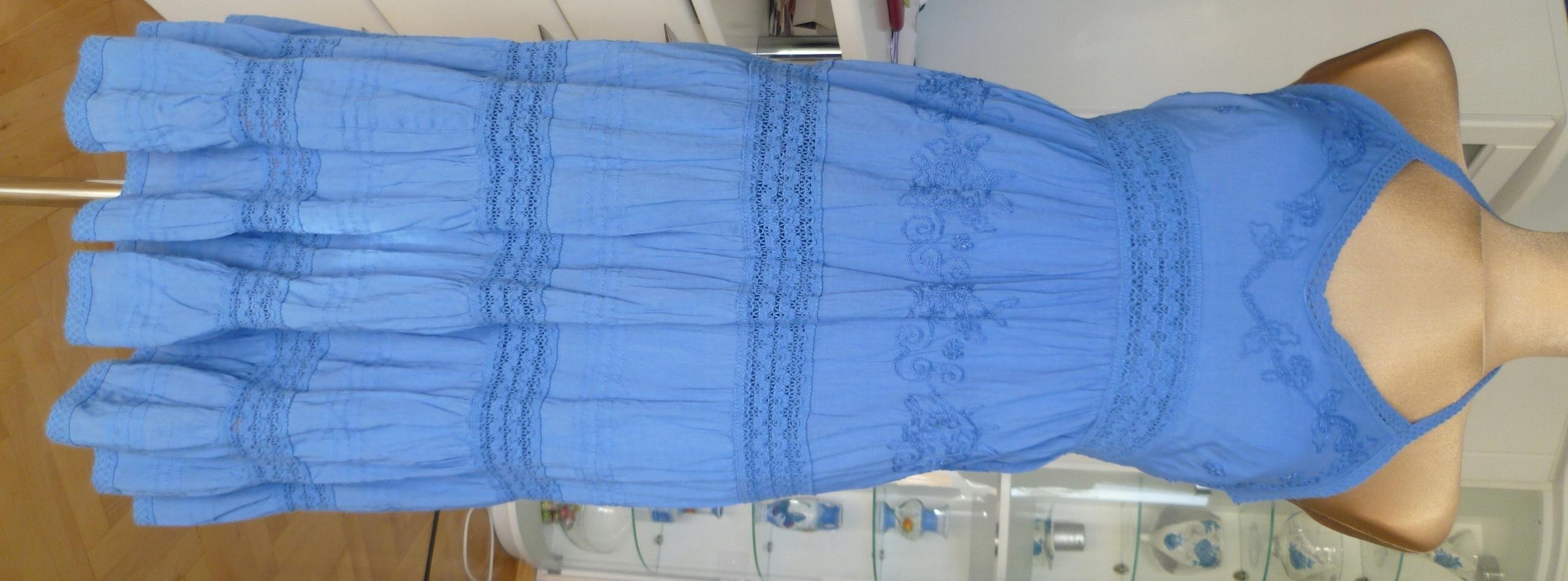 Sukienka lato falbany bawełna New Look r.42