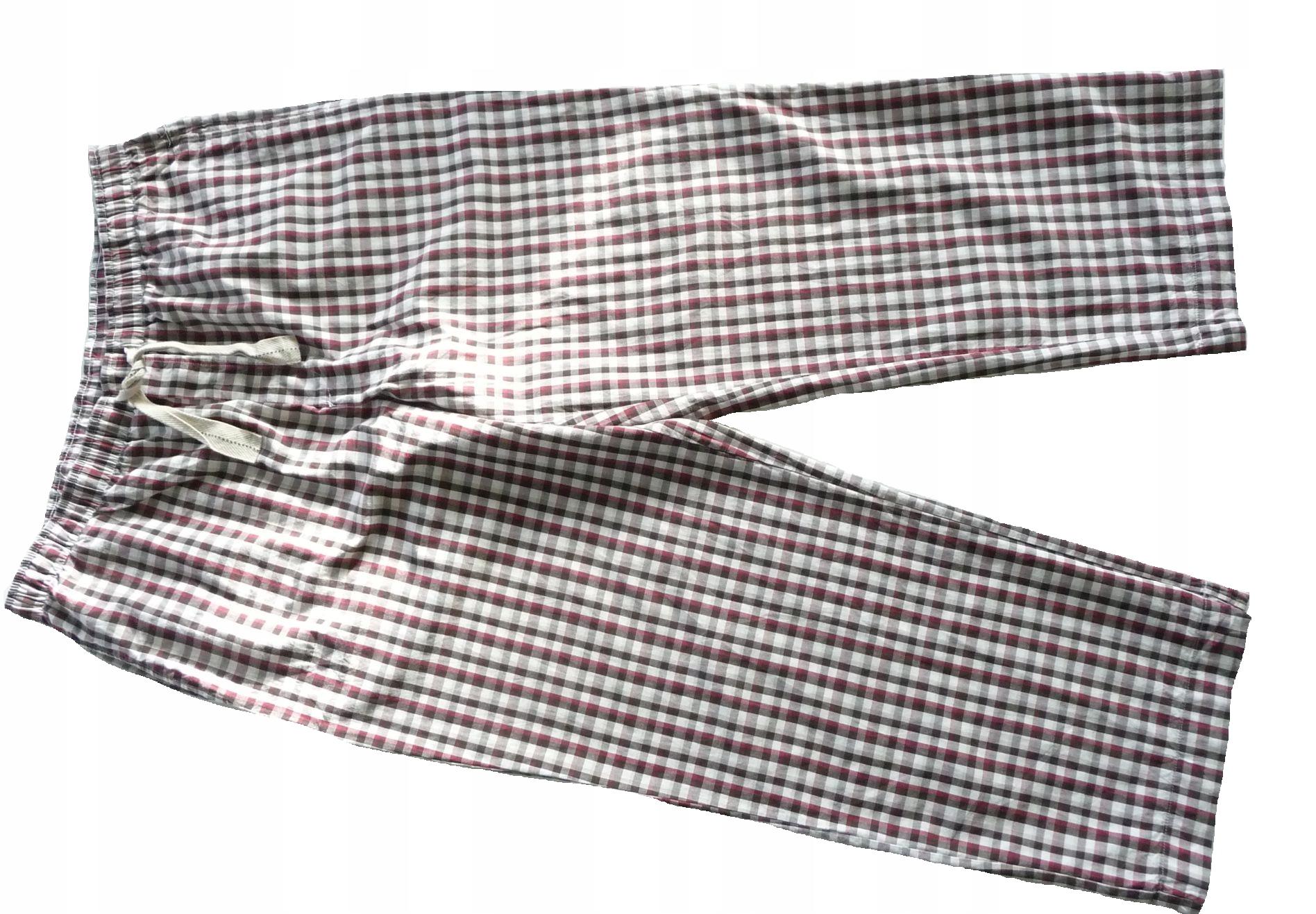 M&S Spodnie od piżamy męskie L kieszenie17c119
