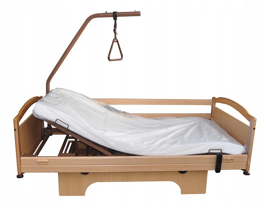 łóżko Dla Chorego Elektryczne Na Pilota Materac