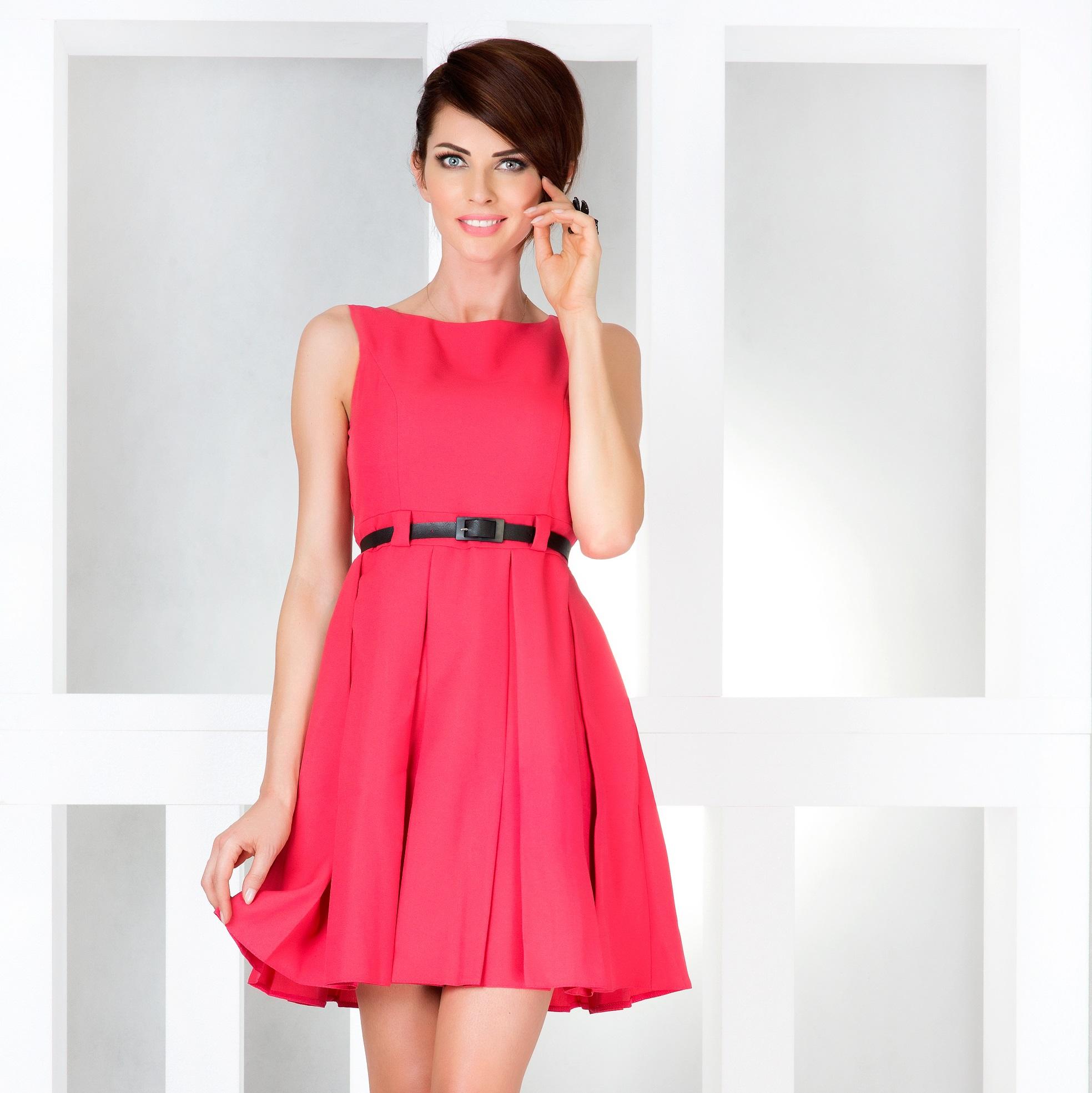 44e001f360 Ładna Sukienka Dla Puszystych Duże Rozmiary 6-8 XL - 7165288673 ...