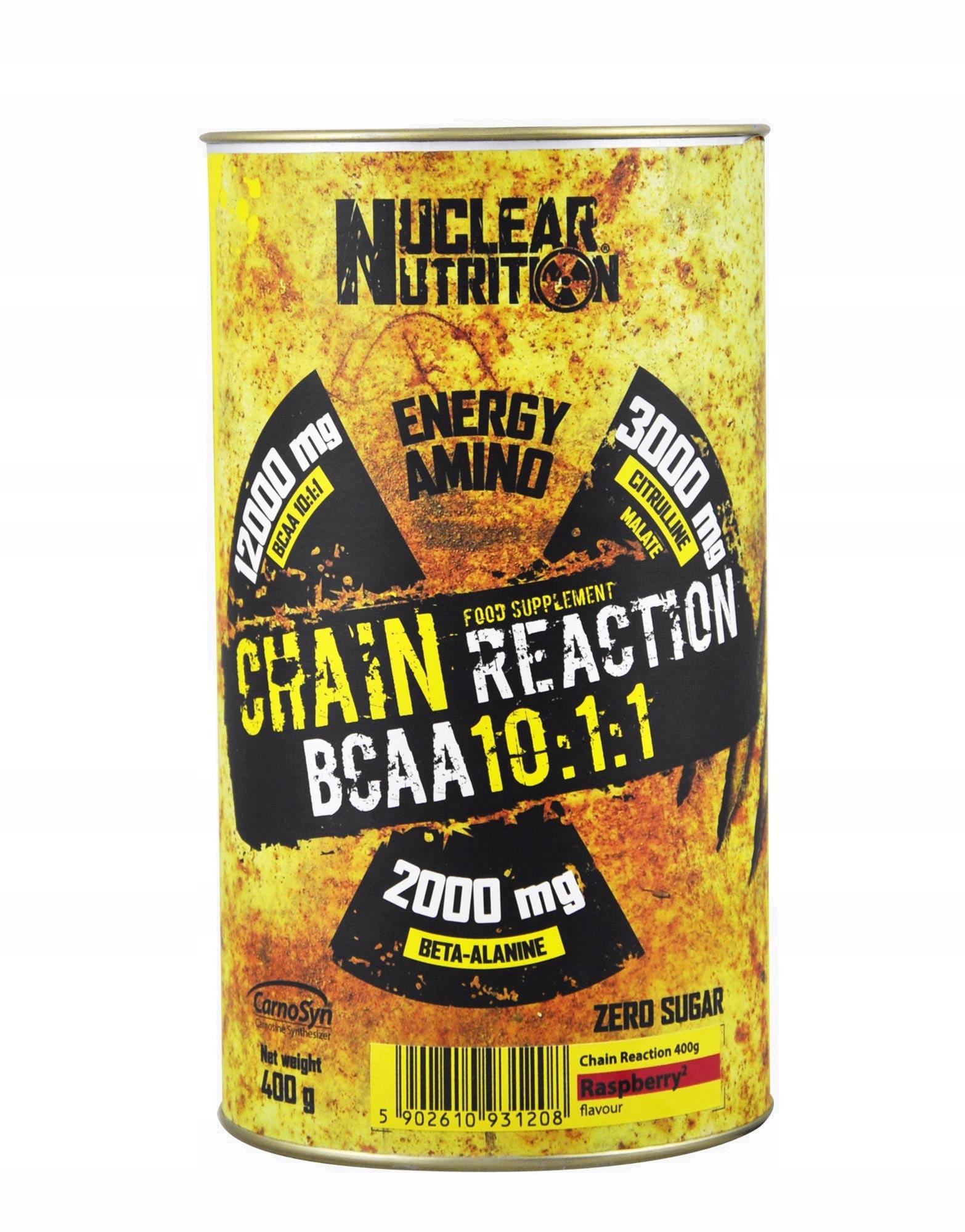 NUCLEAR NUTRITION BCAA Chain Reaction 400 g