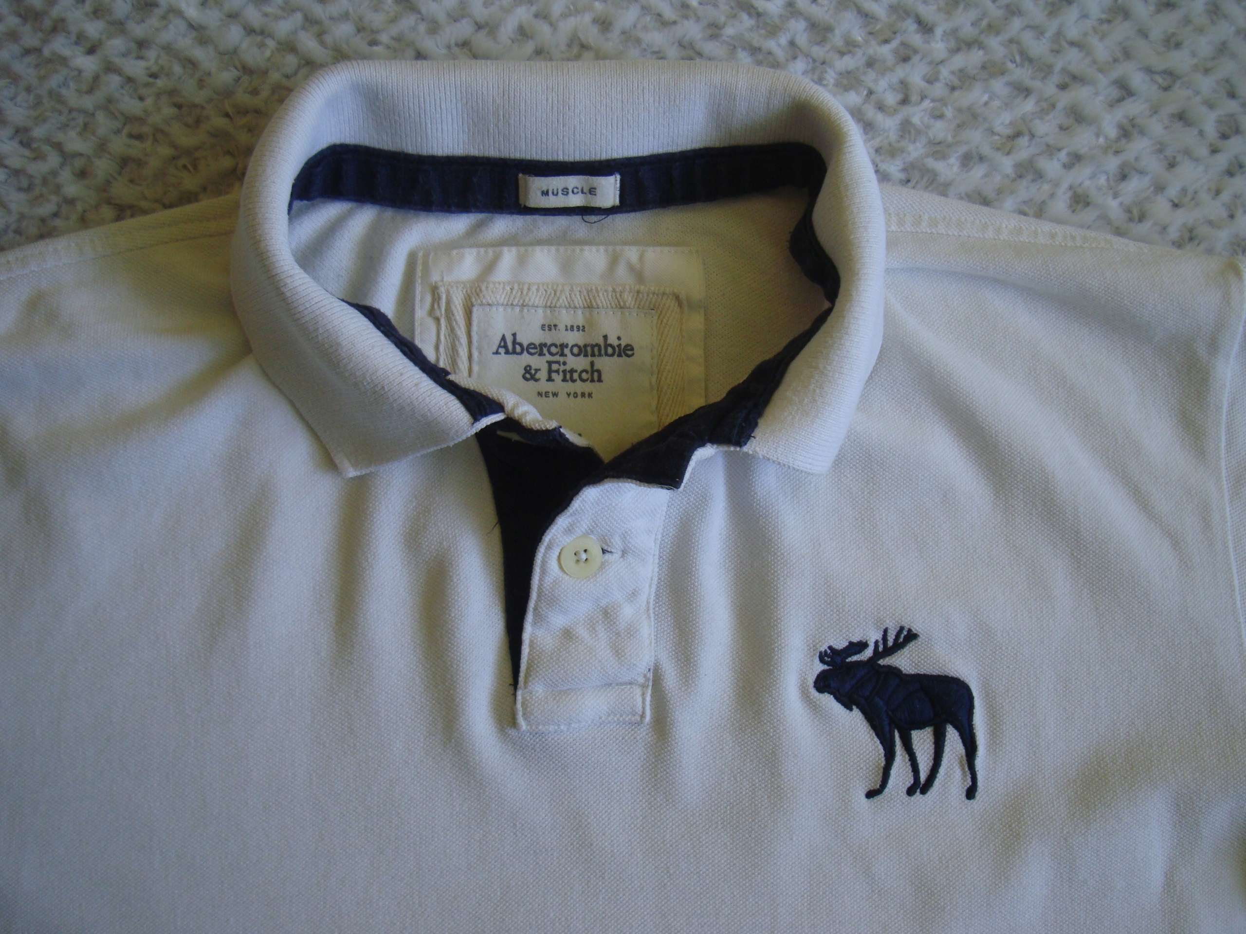 Abercrombie&Fitch koszulka polo rozmiar XXL