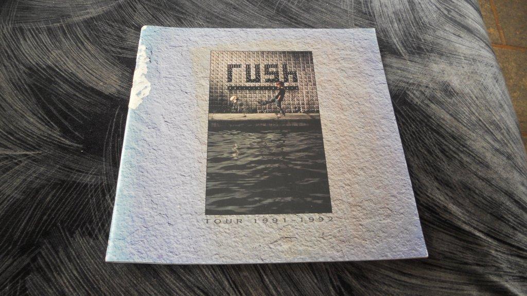 RUSH, tour 1991-1992, program