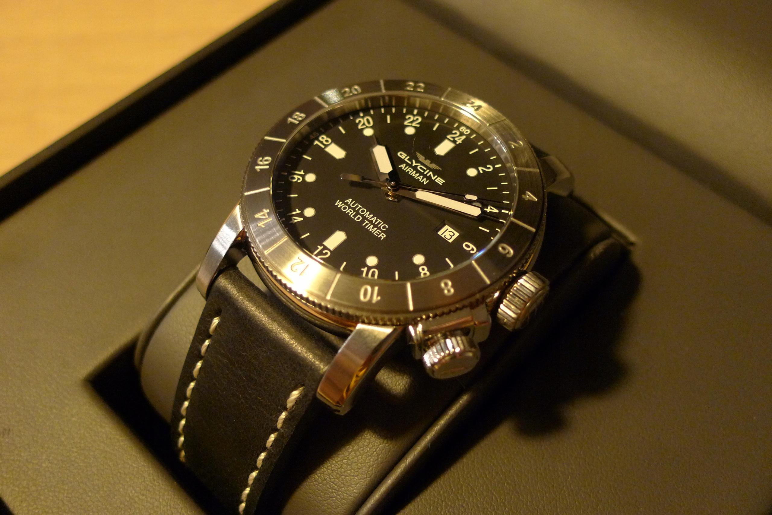 Glycine Airman Purist 44 zegarek GL0137