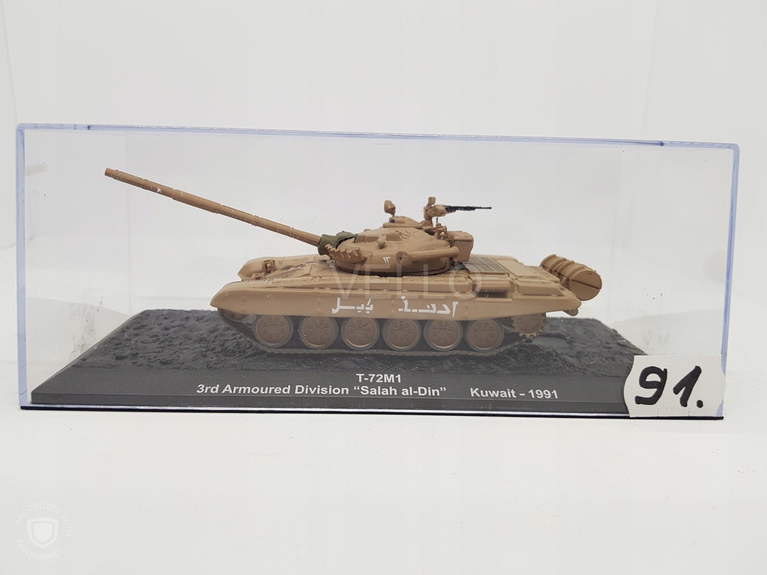 T-71M1 nr 91 1:72