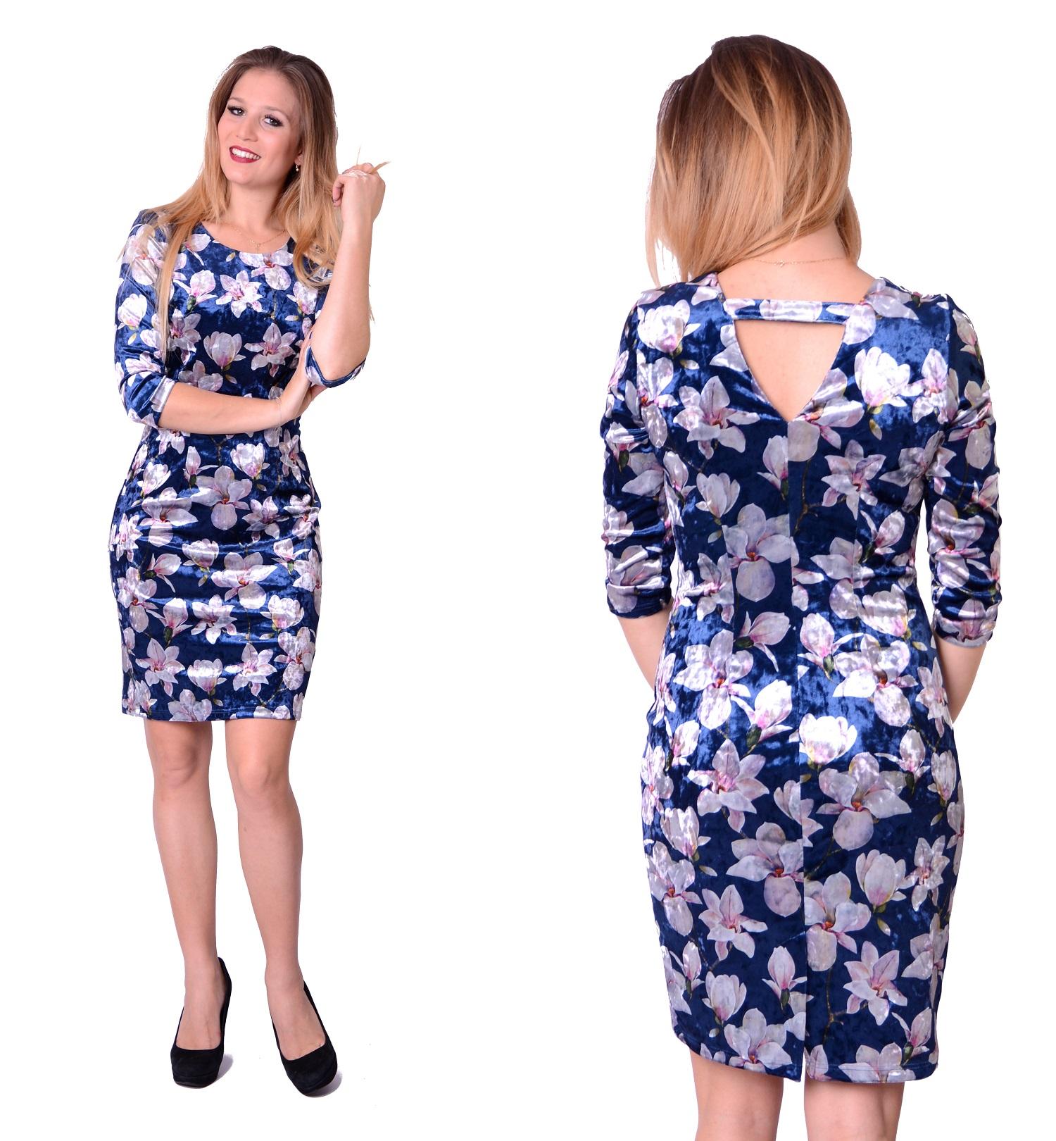 45e9e8b7a6 WYPRZEDAŻ Sukienka Welur Magnolie PRODUCENT roz.38 - 7107385805 ...