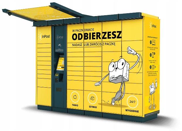 10x Kod Kupon Voucher INPOST PACZKOMATY automat 5m