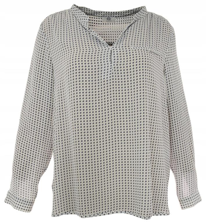 aLL2974 C&A biała koszulowa bluzka 48