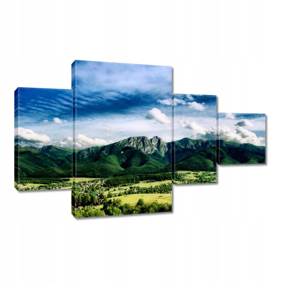 Obrazy 130x80 Tatry Panorama Pejzaż Kraj
