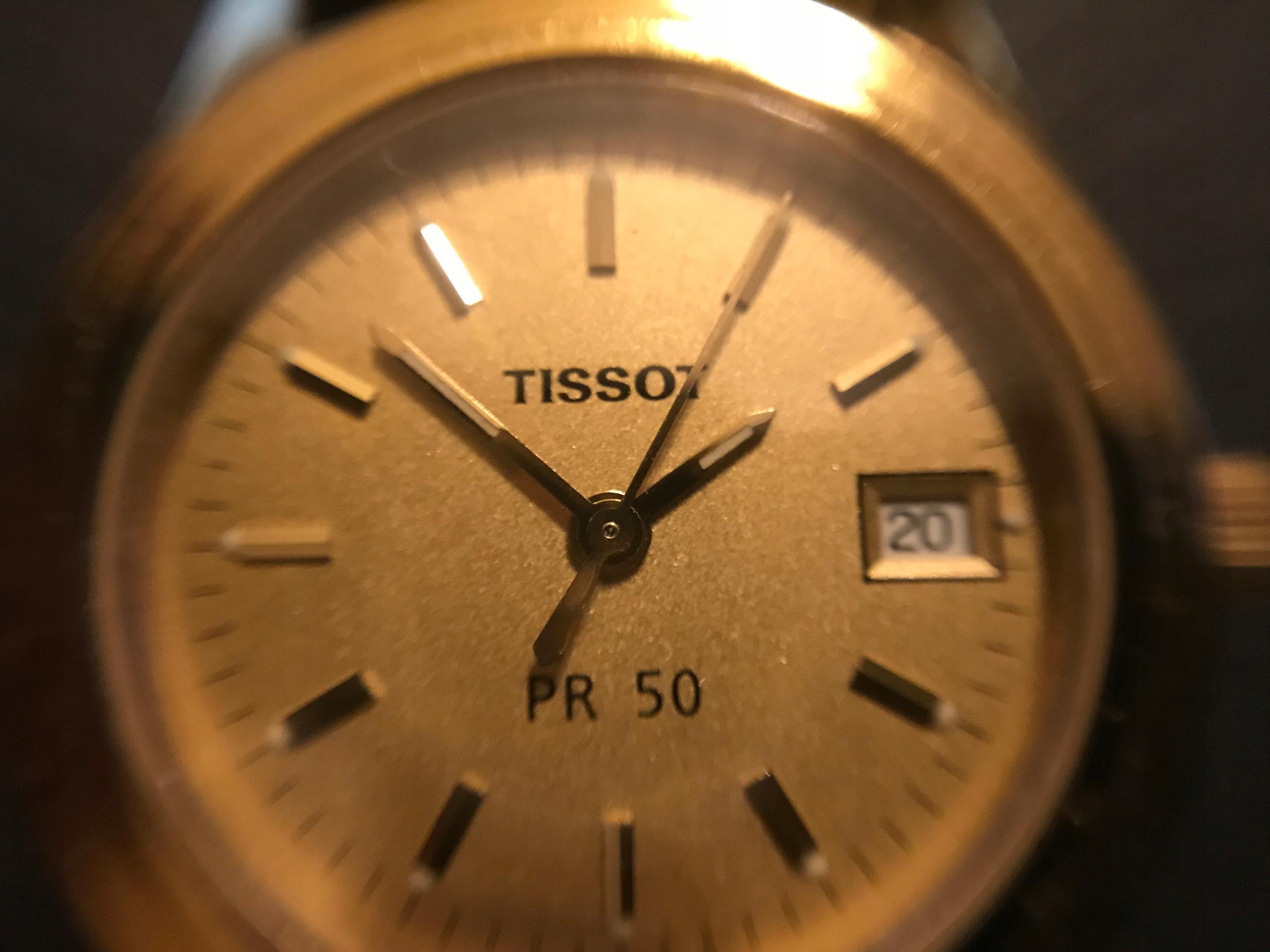 Przepiękny zegarek TISSOT model J134/234K