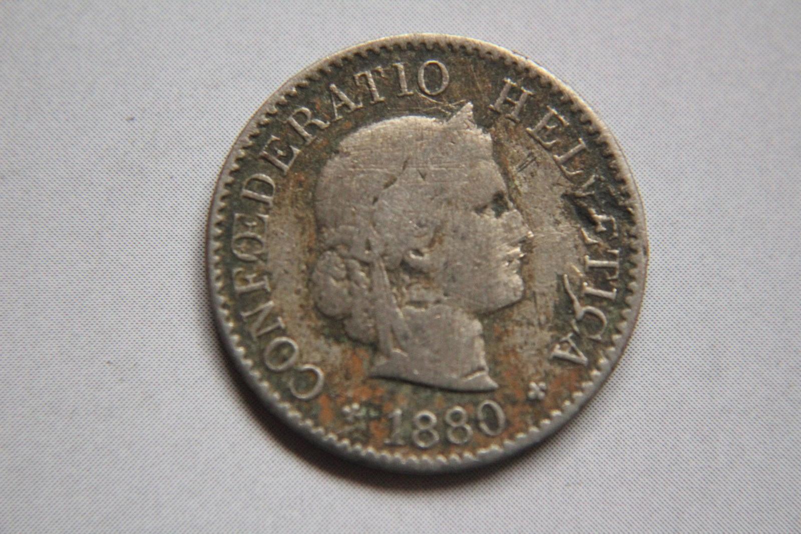 5 RAPPEN 1880 R.SZWAJCARIA - CC026