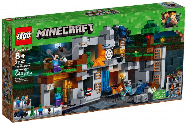 LEGO Minecraft 21147 Przygody na skale macierzyste