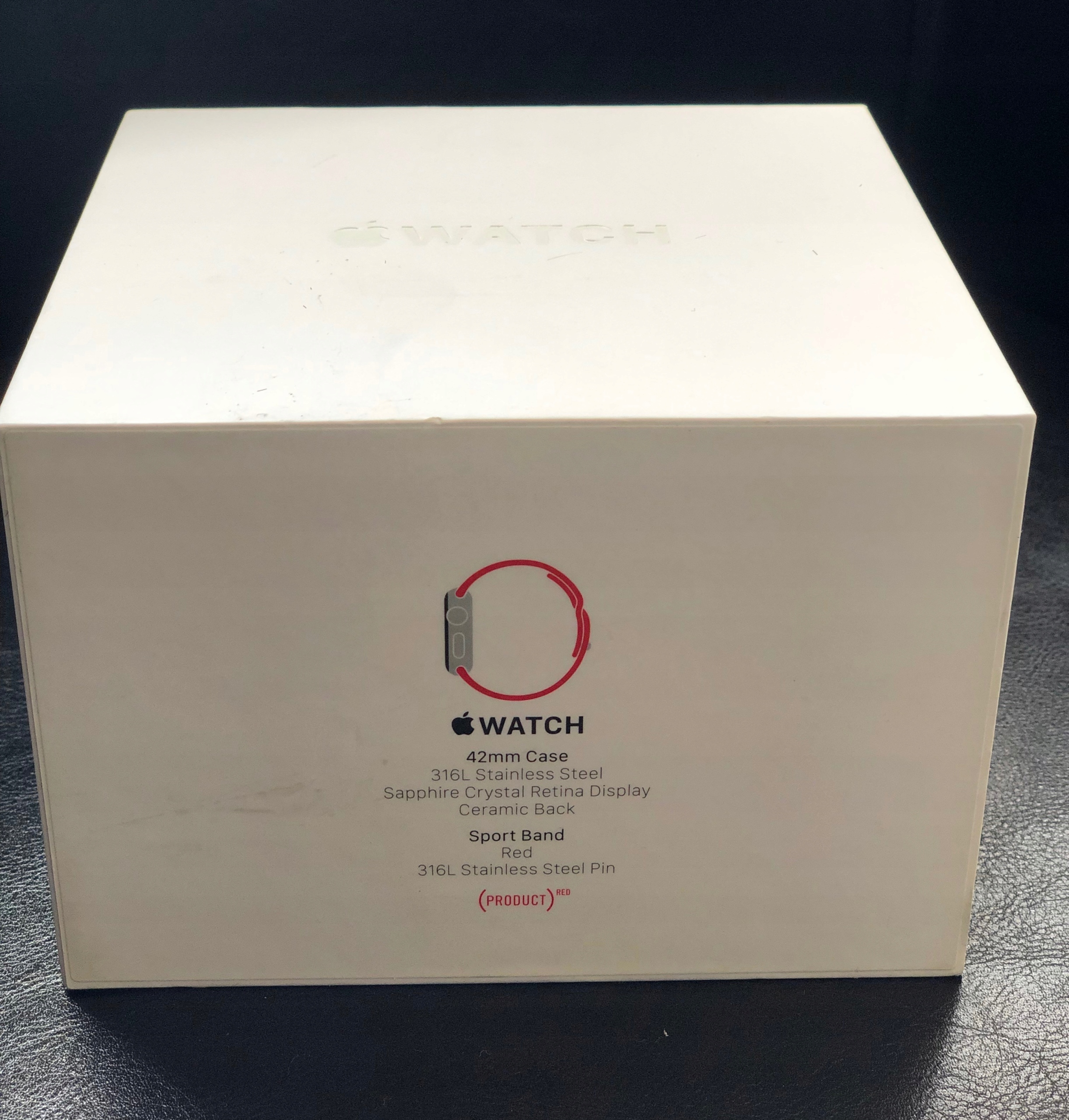 Apple Watch Stainless Steel 42mm wersja RED