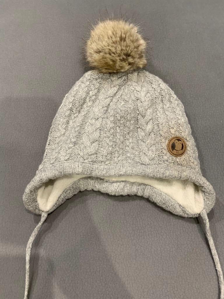 H&M zestaw czapka + rękawiczki 62/68