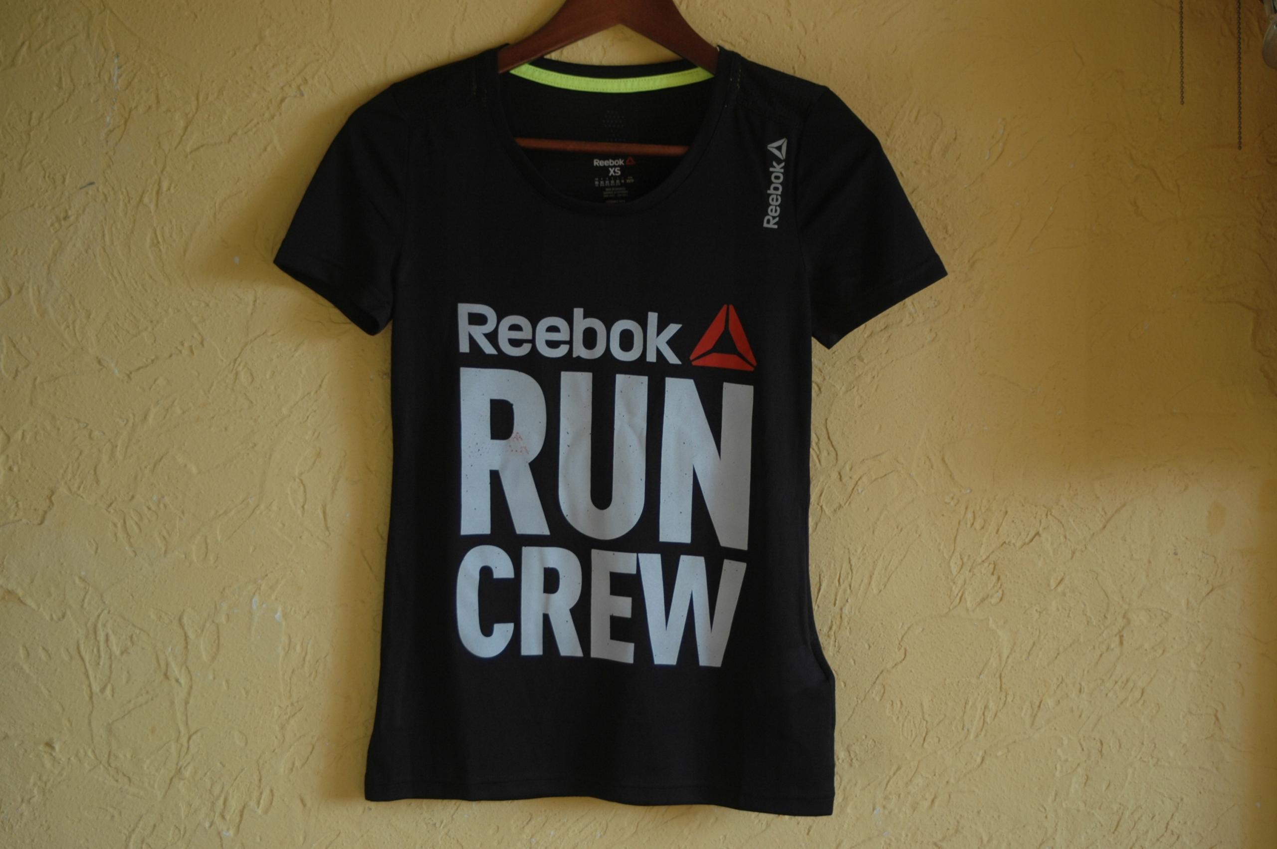 Koszulka REEBOK SPEEDWICK - RUN CREW Roz. XS - (3)