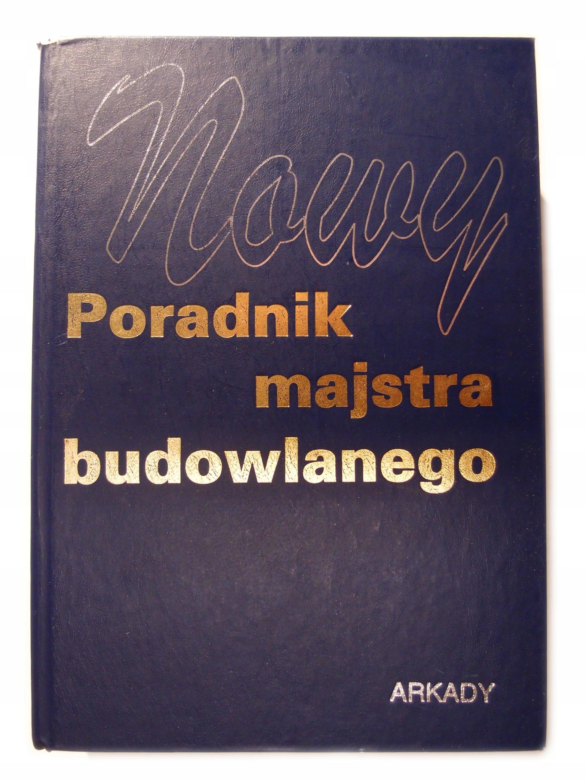 Nowy poradnik majstra budowlanego red Janusz Panas