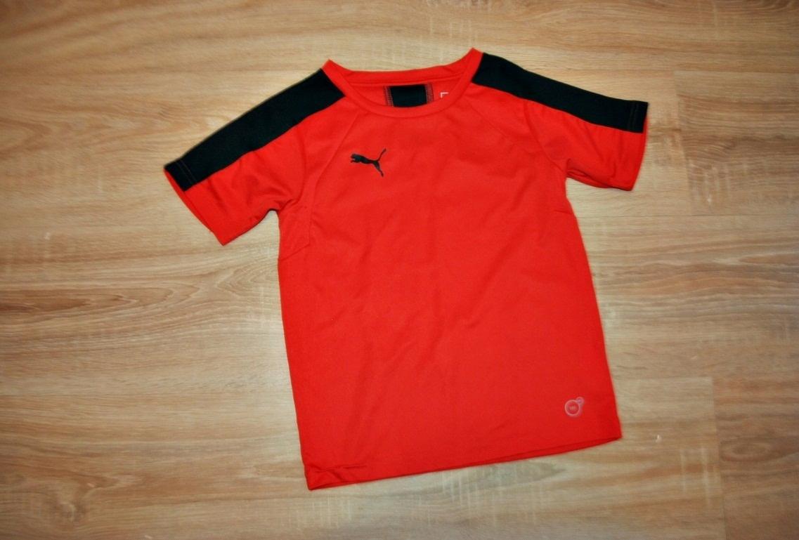 PUMA świetna koszulka bluzka LOGO 128 BDB