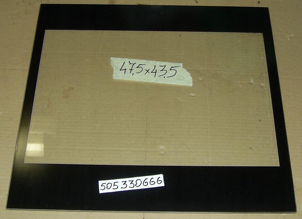 Szyba drzwi piekarnika Amica 47,5x43,5
