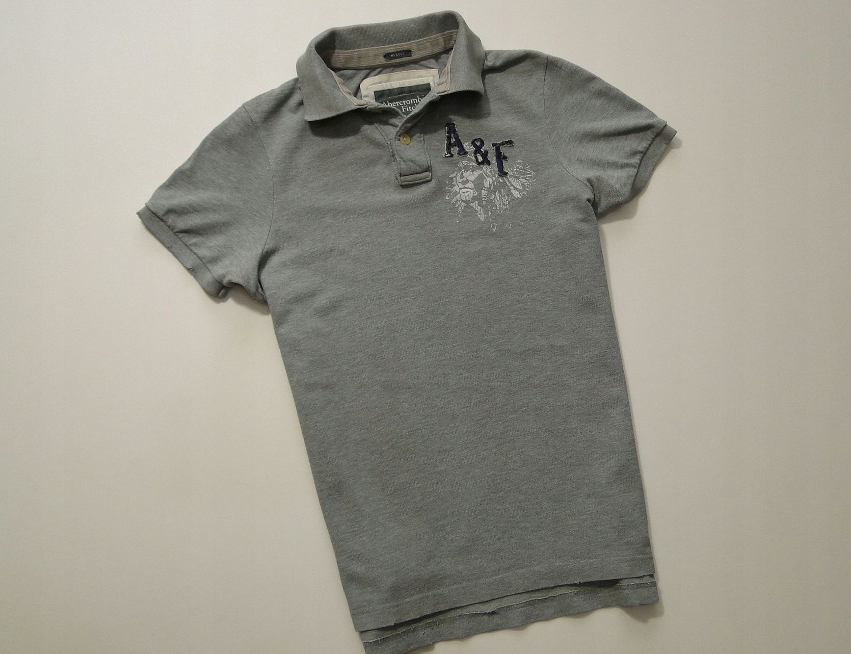 Koszulka Abercrombie Fitch Muscle New York Polo