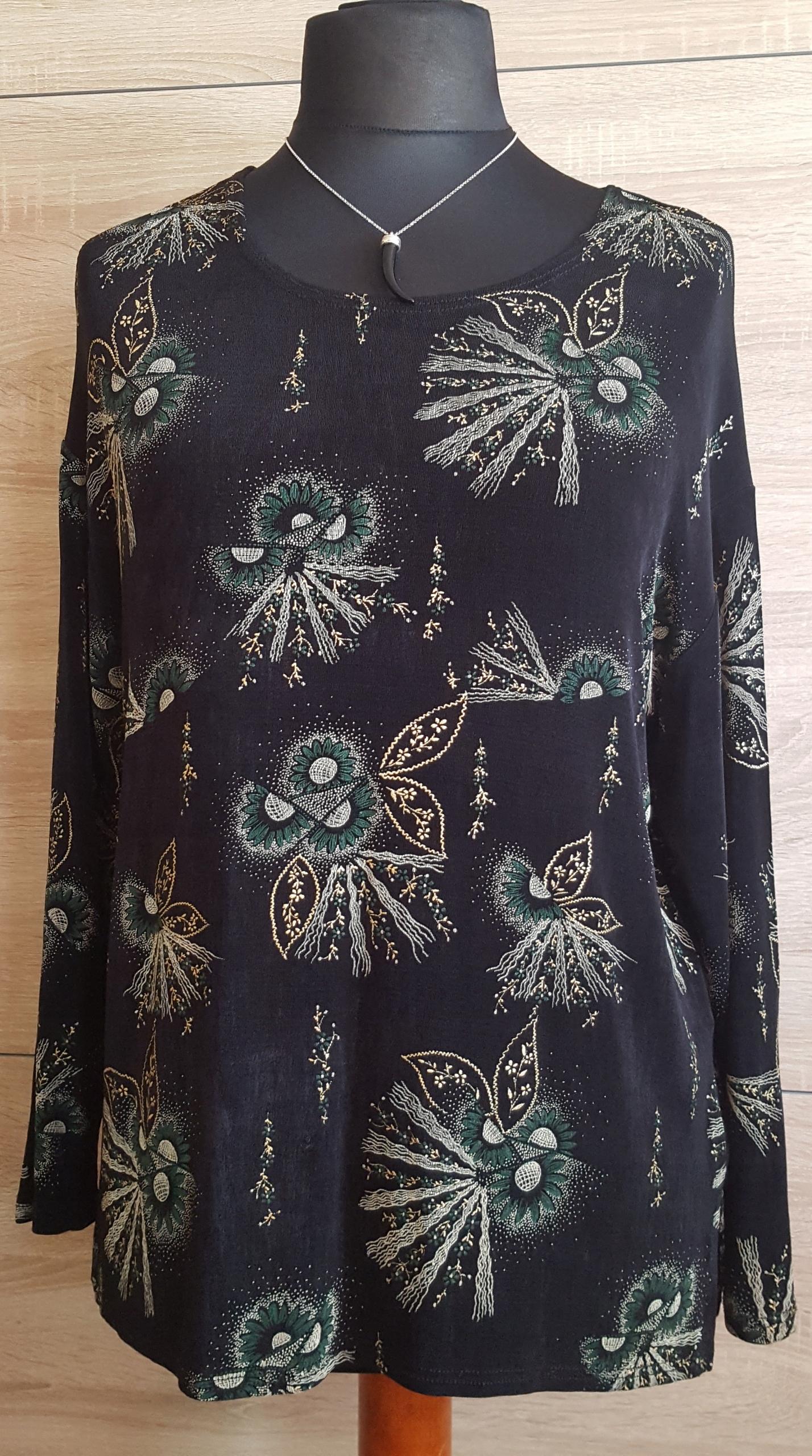 Bluzka damska duży rozmiar 48.