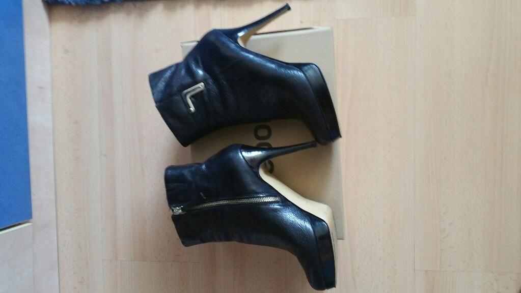Nine West Swietne Kozaki Botki Czarne 38,5