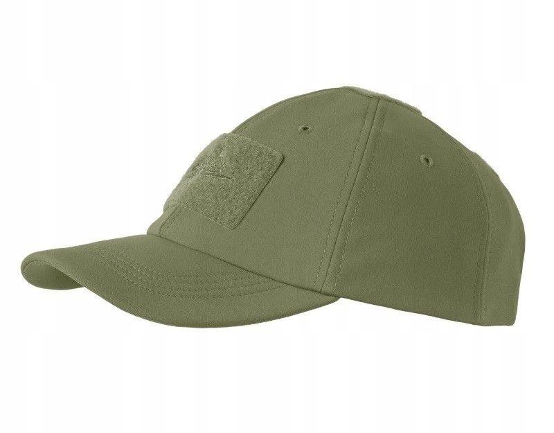 Zimowa czapka z daszkiem Helikon Soft Shell