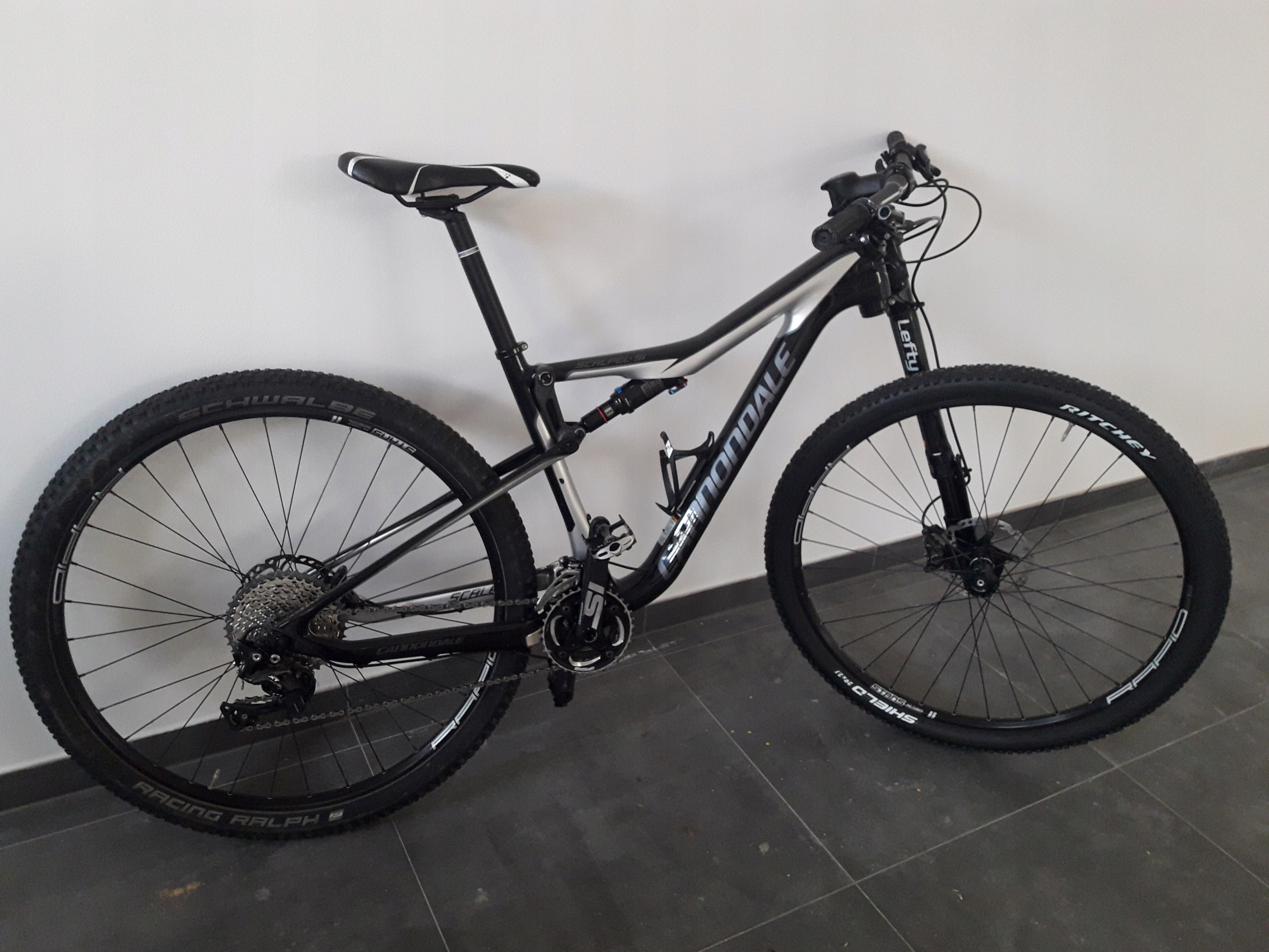 Rower CANNONDALE Scalpel Si 2016 29""