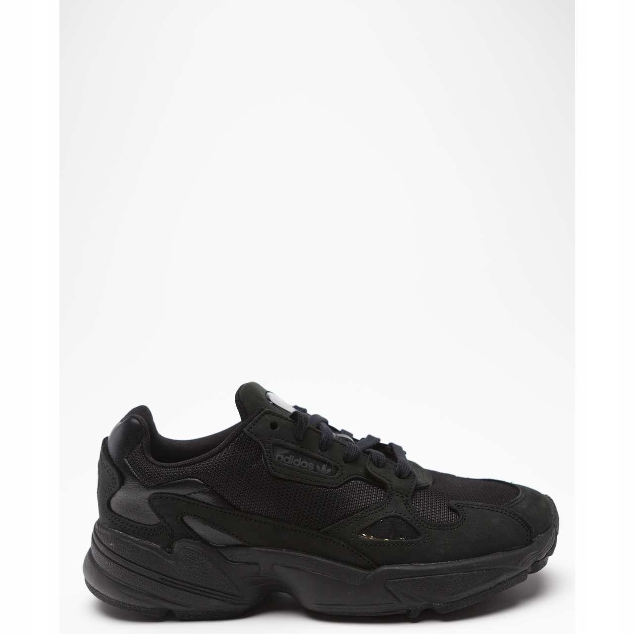 Sneakers damskie buty Adidas Originals Falcon W core black grey five (G26880)