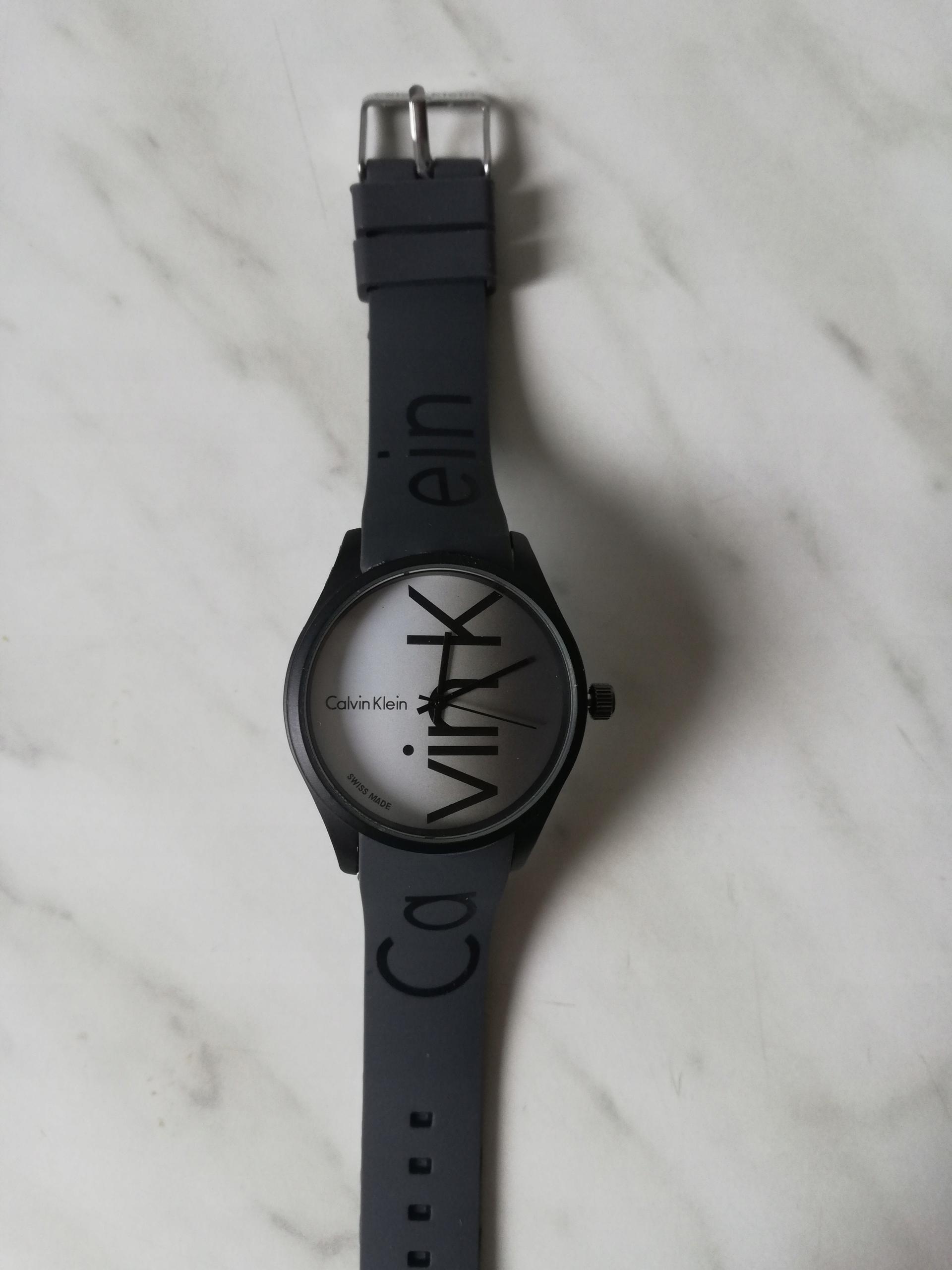 Elegancki zegarek CK SPORTOWY SILIKONOWY szary