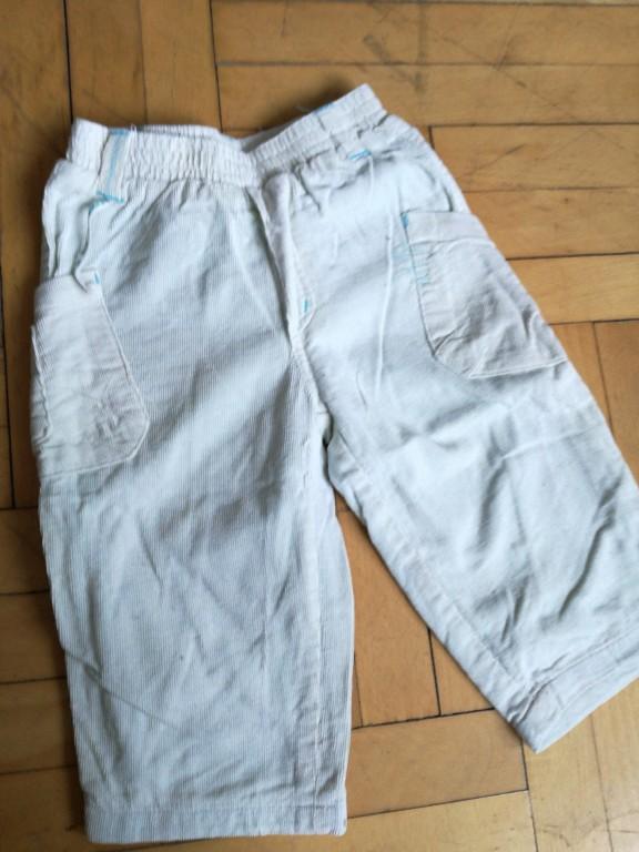 sztruksowe spodnie podszewka 80 5.10.15 sztruks
