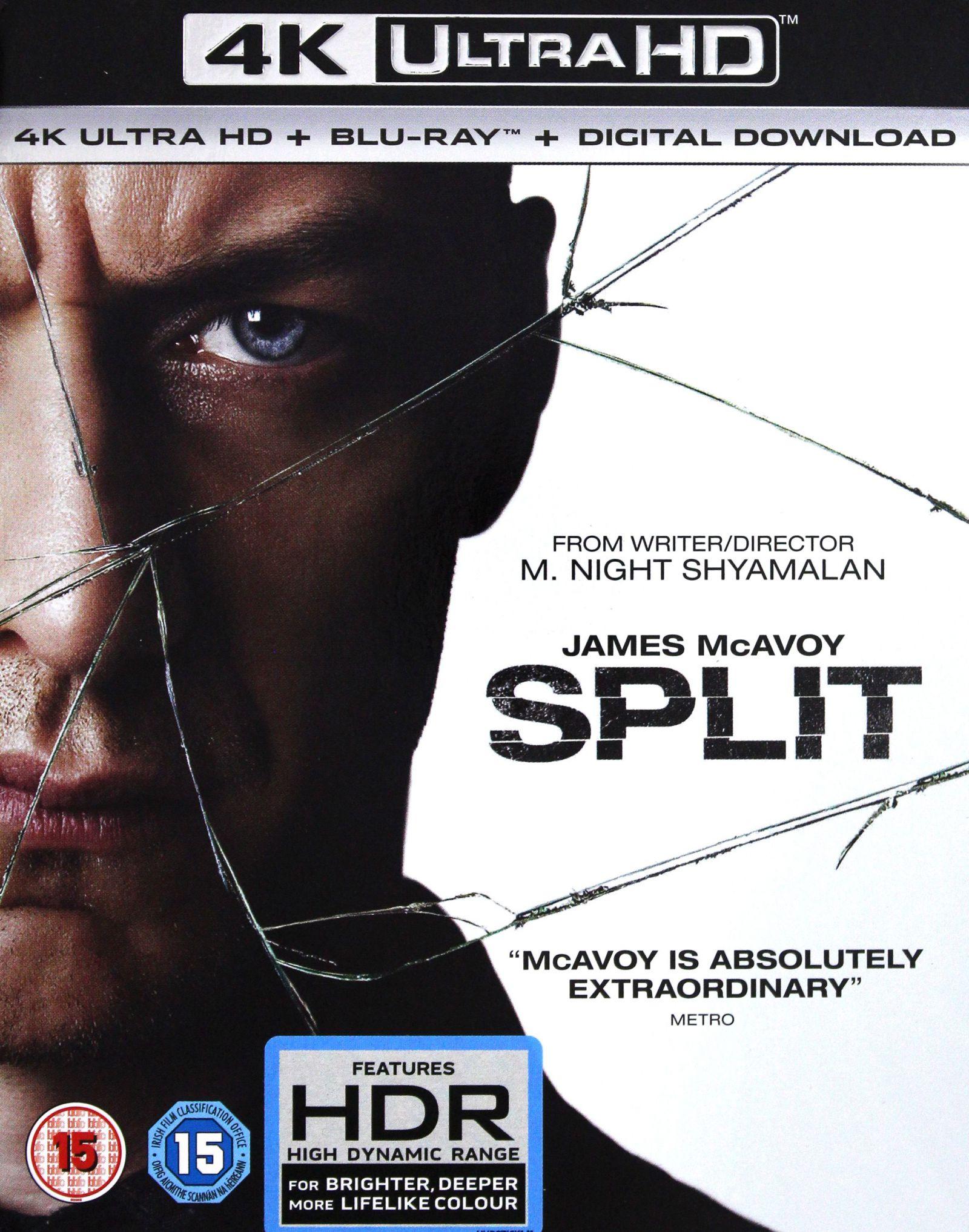 SPLIT [BLU-RAY 4K]+[BLU-RAY]