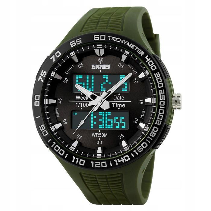 Zegarek męski - SKMEI - elektroniczny - stoper