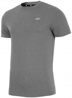 Męska koszulka fitness 4F L18 TSMF002 j.szara # S