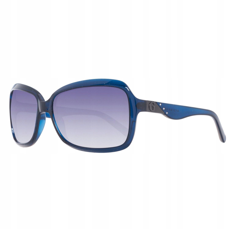 okulary damskie GUESS GU0223F muchy niebieskie