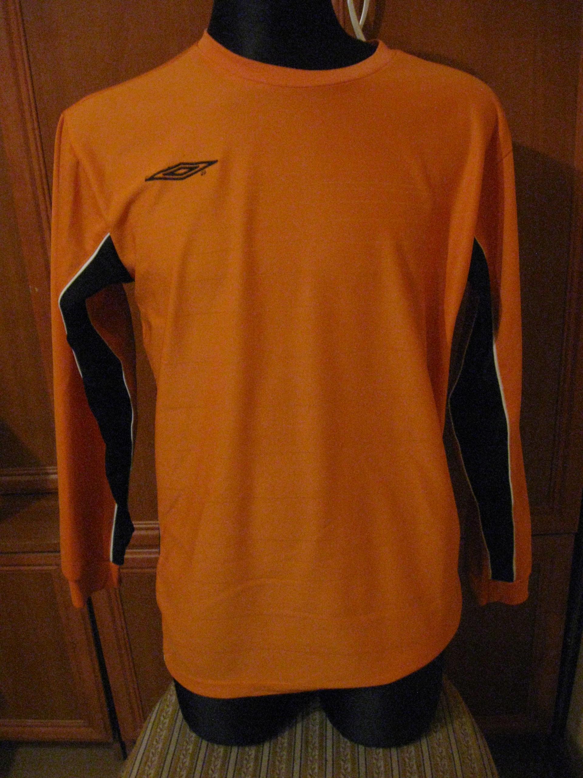 UMBRO - koszulka sportowa długi rękaw roz. M