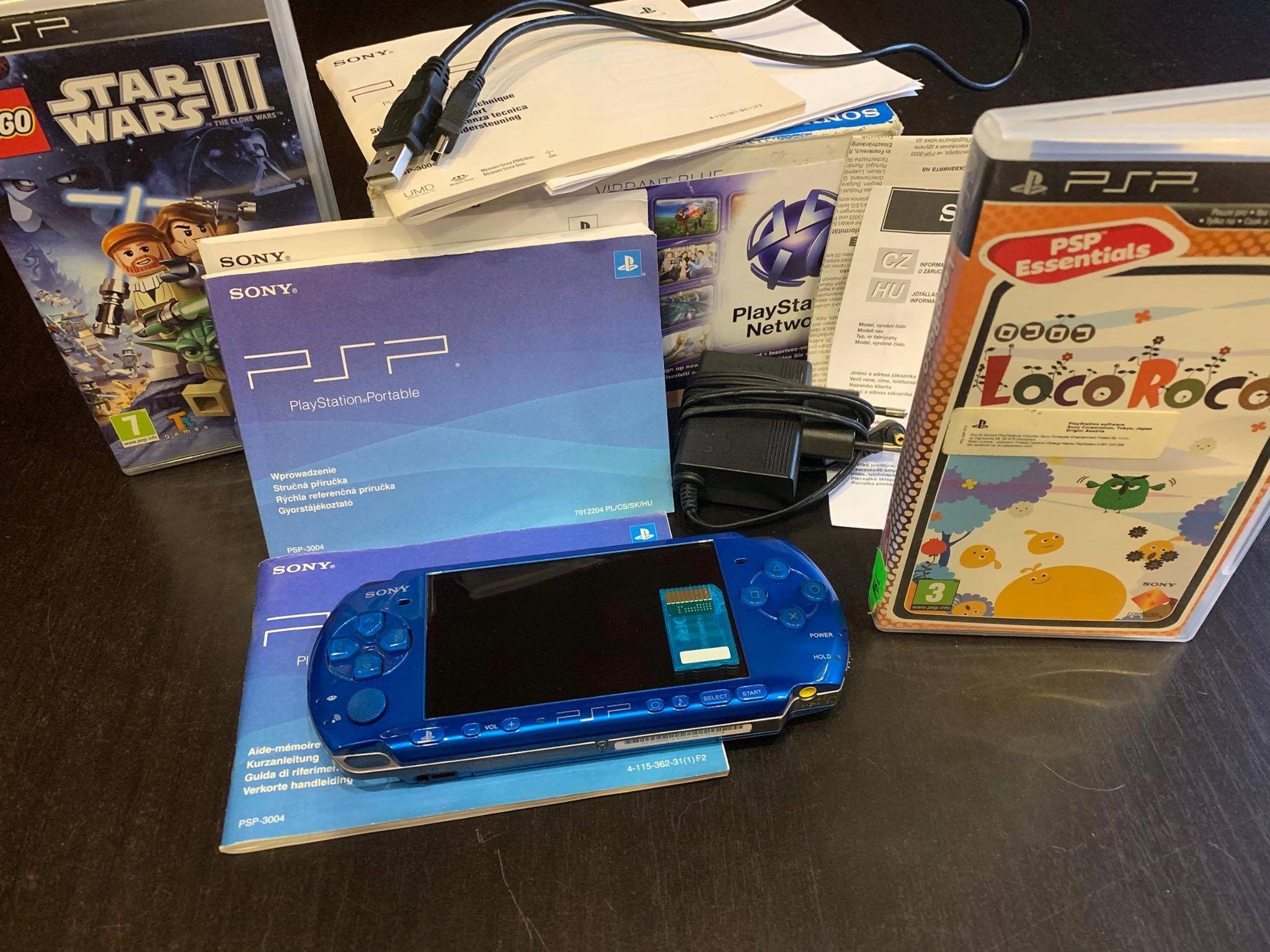 PSP 3004 RARYTAS VIBRANT BLUE!!