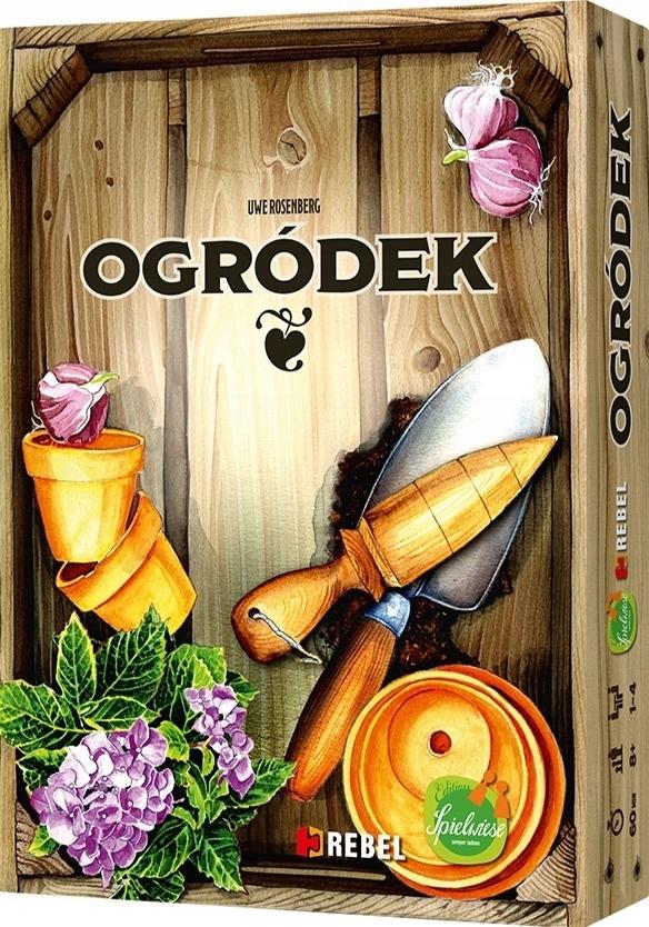 Gra planszowa Ogródek wersja polska NOWA