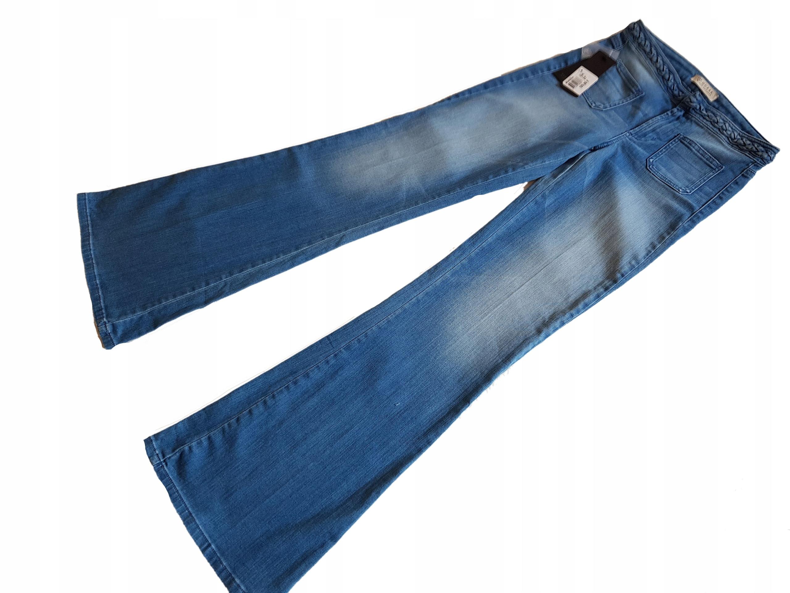 GUESS-jeansowe dzwony hit 36 nowe