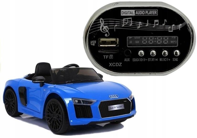 Radio do Auta na Akumulator Audi R8 USB