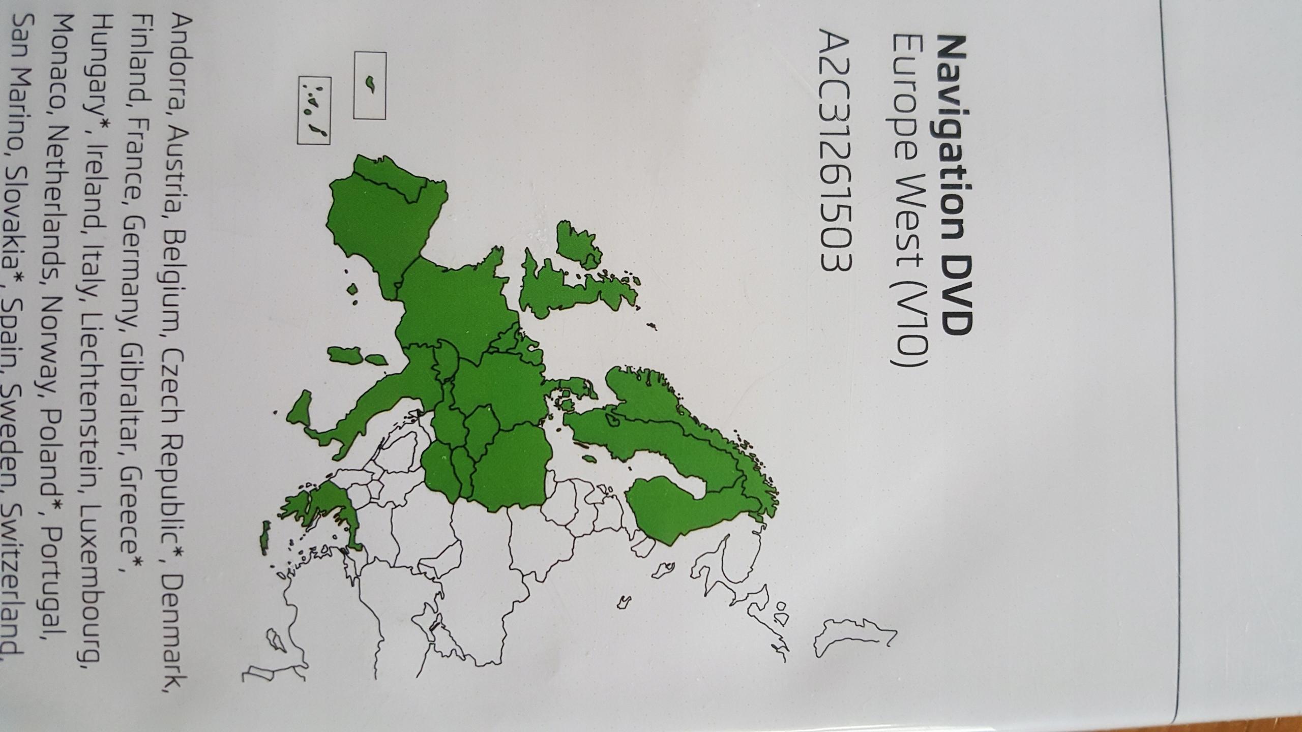MAPY EUROPA VW SKODA ITP/ V10 - 7682642906 - oficjalne