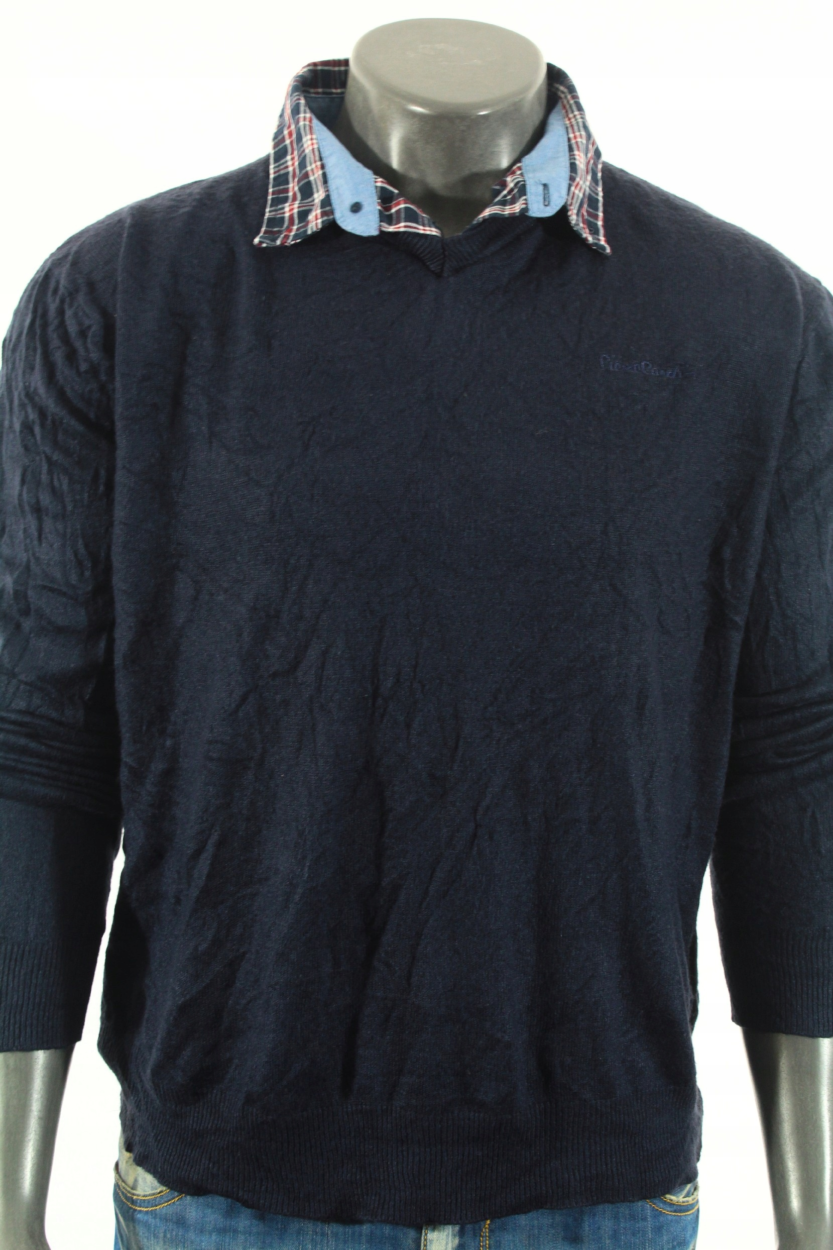 PIERRE CARDIN Sweterek z kołnierzykiem! XL