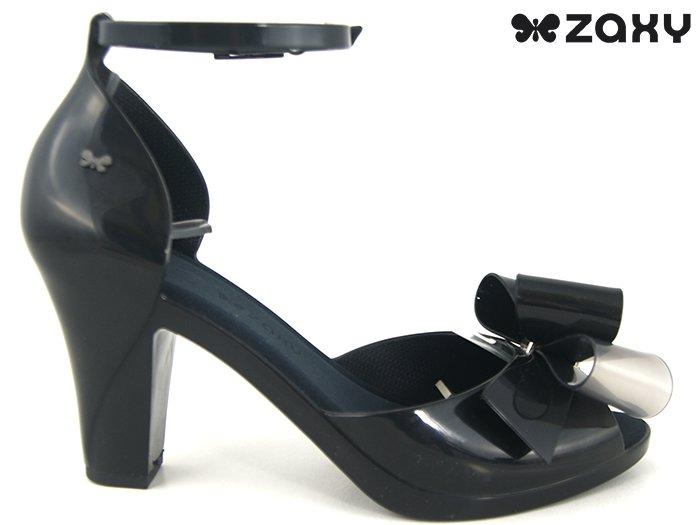 Sandały 82182 silikony ZAXY r.38 czarne pachnące