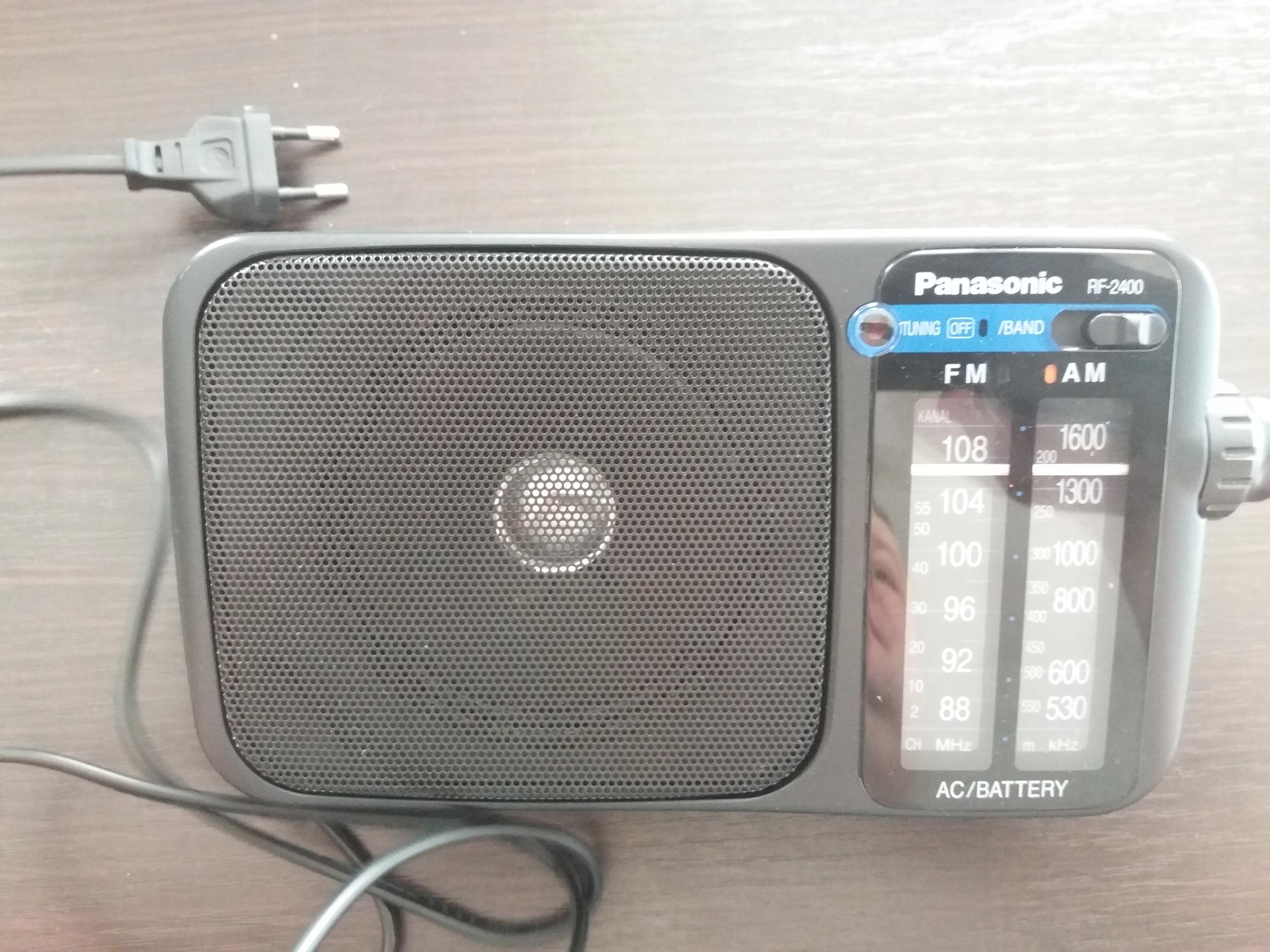 Radioodbiornik Panasonic. Polecam