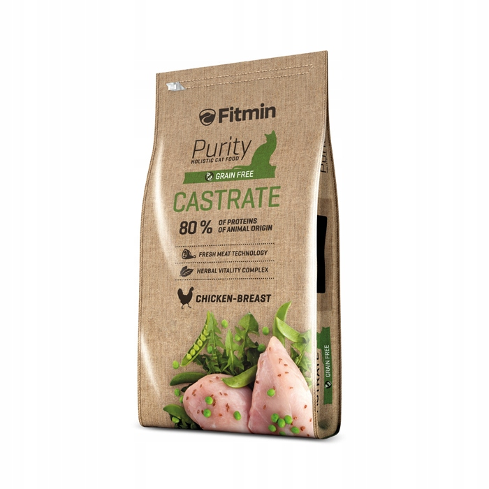 Fitmin Cat Purity Grain Free Castrate 1,5kg