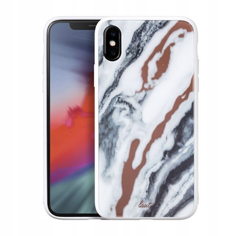 Laut MINERAL GLASS - Etui iPhone Xs / X