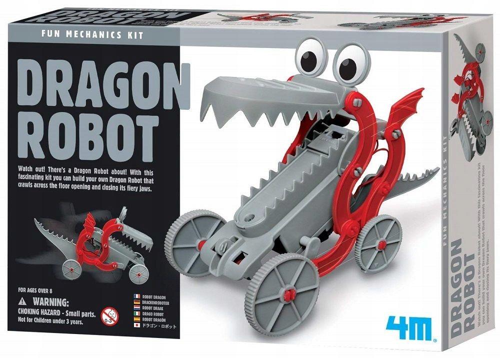 ROBOT SMOK zestaw kreatywny zrób to sam 4M 8+